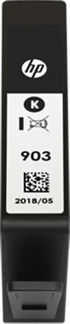 HP T6L99AE, náplň č.903, černá