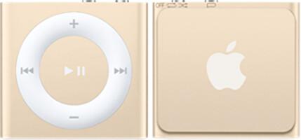 Apple iPod shuffle - 2GB, zlatá, 4th gen.