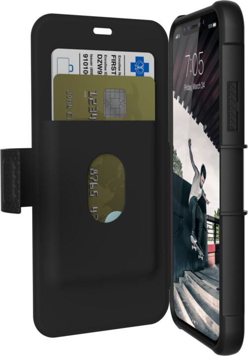 UAG Metropolis case Black - iPhone X, black