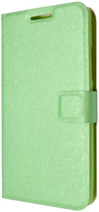 FIXED flipové pouzdro pro Lenovo A5000, zelená