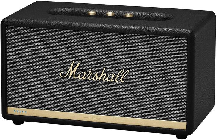 Marshall Stanmore II Voice Alexa, černá