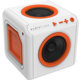 AudioCube Portable, bílá/oranžová  + Voucher až na 3 měsíce HBO GO jako dárek (max 1 ks na objednávku)