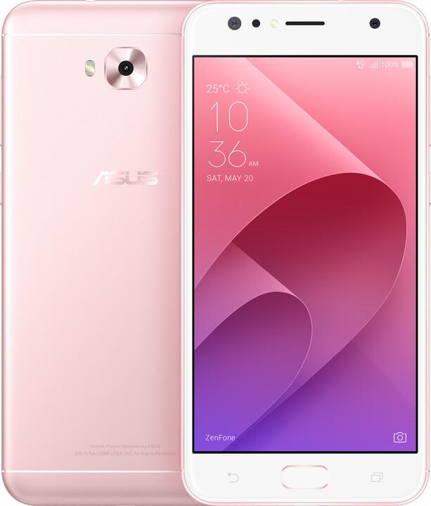 ASUS ZenFone 4 Selfie ZD553KL-5I058WW, 4GB/64GB, růžová