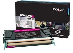 Lexmark C746A2MG, magenta