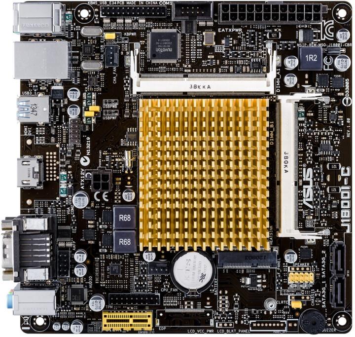 ASUS J1800I-C - Intel J1800, pro firmy