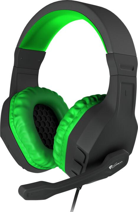 Genesis Argon 200, černá/zelená