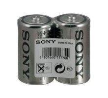 Sony Zinko - chloridové baterie - SUPER 1,5V - 2 ks v balení - R14/C (SUPER)