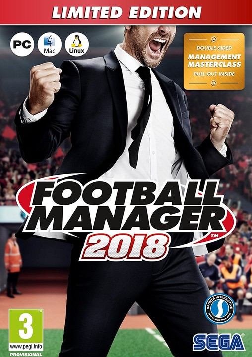 Football Manager 2018 - Limited Edition (PC)