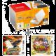 Nintendo New 2DS XL, bílá/oranžová + Pokémon Ultra Sun + Yo-Kai Watch 2: Fleshy Souls  + Voucher Be a Gamer - 5x 100 Kč (sleva na hry nad 999 Kč)