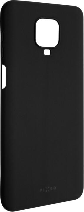 FIXED Story zadní pogumovaný kryt pro Xiaomi Redmi Note 9 Pro, černá