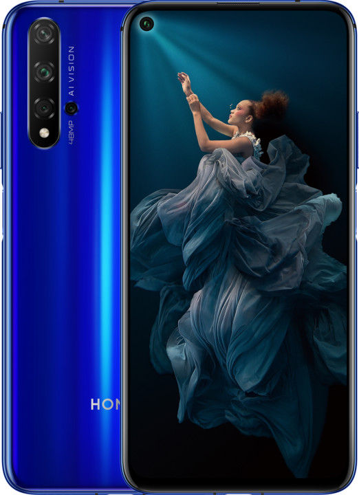 Honor 20, 6GB/128GB, modrá