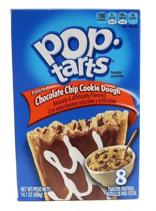 POP TARTS Frosted Chocolate Chips Cookie Dough 400 g