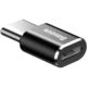 Baseus adaptér USB-C samec/microUSB samice, černá