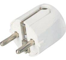 PremiumCord zástrčka 230V 16A, bílá - ppk01