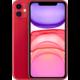 Apple iPhone 11, 64GB, (PRODUCT)RED  + Connex cestovní poukaz v hodnotě 2 500 Kč + Půlroční předplatné magazínů Blesk, Computer, Sport a Reflex v hodnotě 5 800 Kč + Apple TV+ na rok zdarma
