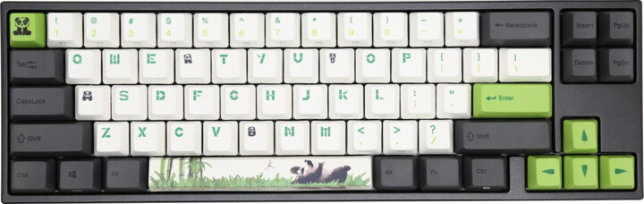 Ducky MIYA Pro Panda, Cherry MX Red, US