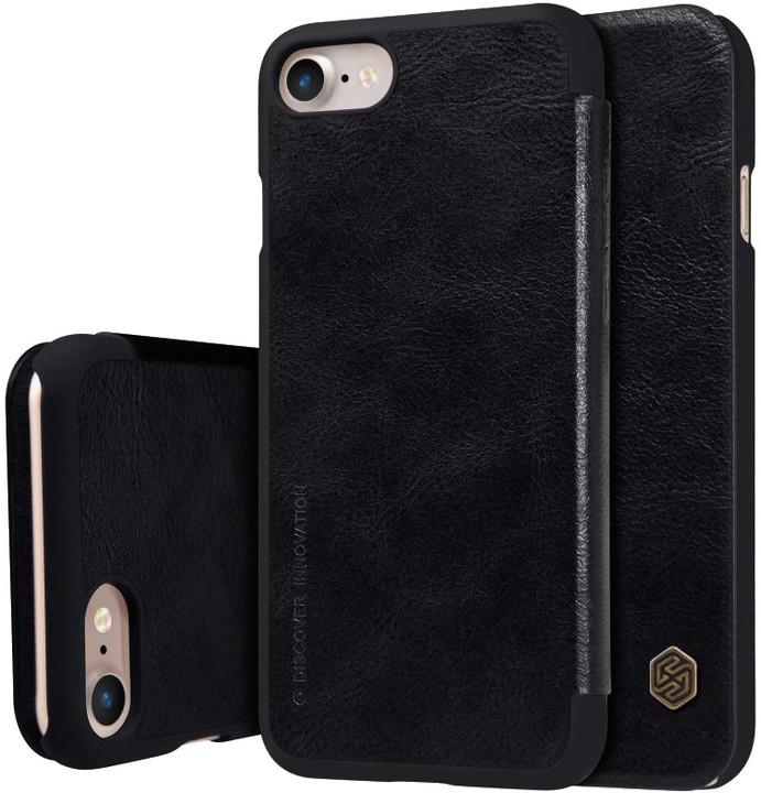 Nillkin Qin Book pouzdro pro iPhone 7/8 - černé
