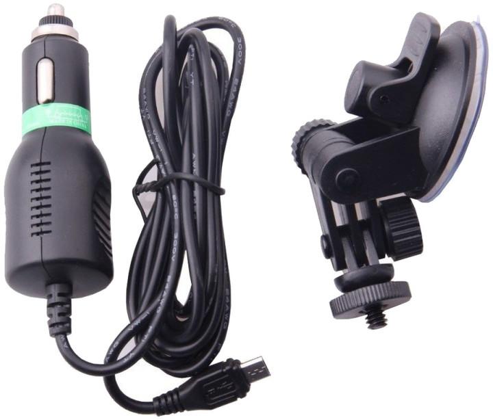 SJCAM SJ4000 car mount & car charger kit