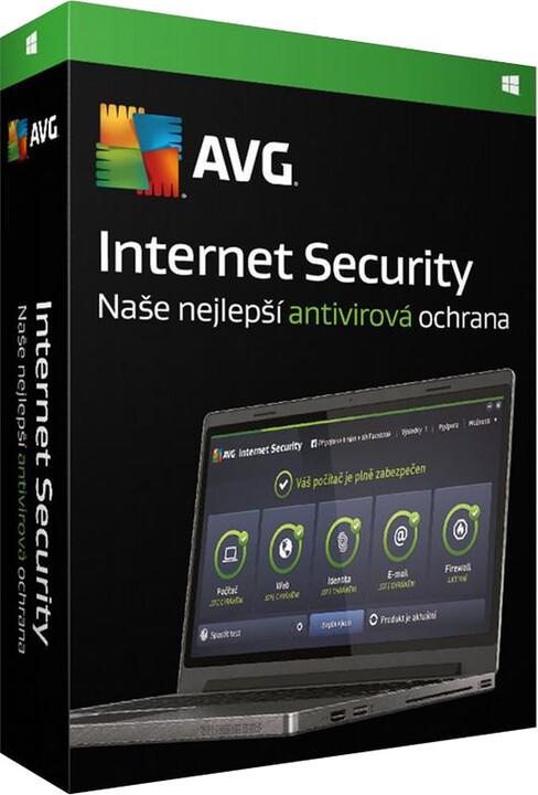 AVG Internet Security,5 licence (12 měs.)