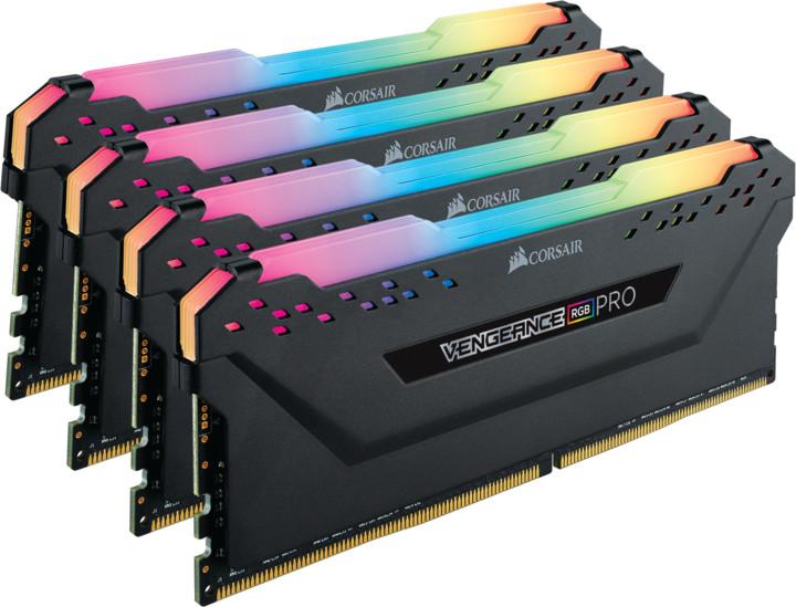 Corsair Vengeance RGB PRO 32GB (4x8GB) DDR4 3000, černá