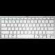 Trust Nado Wireless Bluetooth Keyboard, bílá