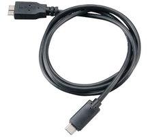 Akasa SuperSpeed+ USB 3.1, Type-C na Micro B, 100cm, černá - AK-CBUB29-10BK