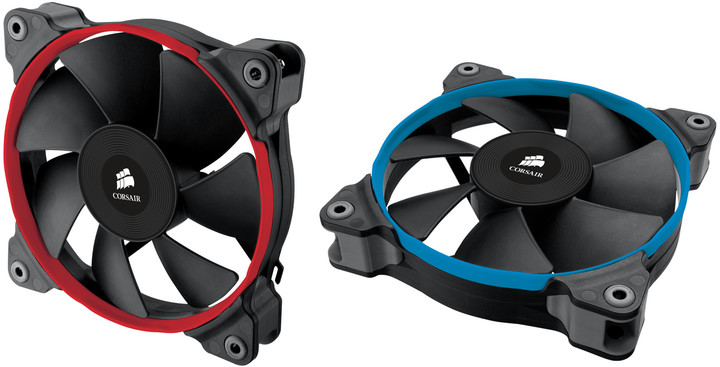 Corsair Air Series SP120 Quiet Edition 120mm, duo pack