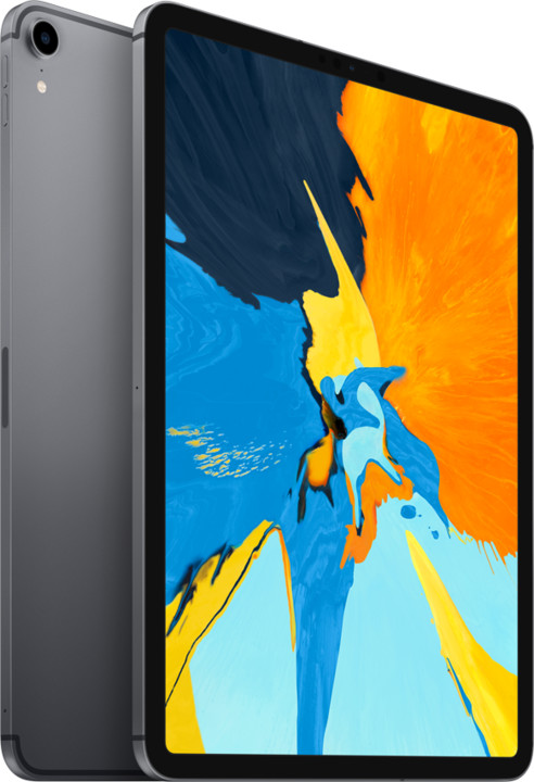 "Apple iPad Pro Wi-Fi + Cellular, 11"" 2018, 64GB, šedá"