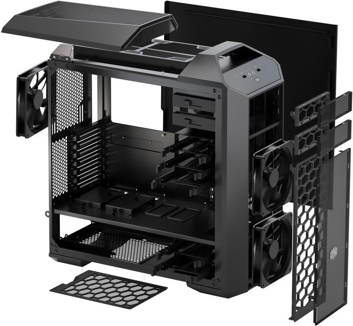 CoolerMaster MasterCase 5 PRO, okno, černá