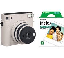 Fujifilm Instax Square SQ1, bílá + film 1x10 - 70100148677