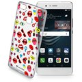 CellularLine STYLE průhledné gelové pouzdro pro Huawei P9 Lite, motiv POP