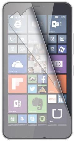 CELLY ochranná fólie displeje pro Microsoft Lumia 640 XL, lesklá, 2ks