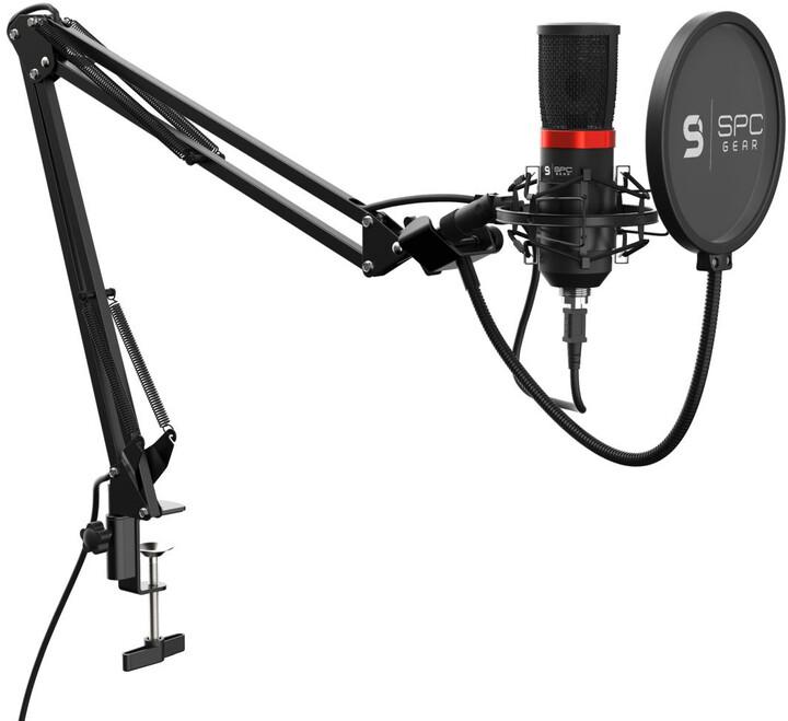 SPC Gear SM950, černý