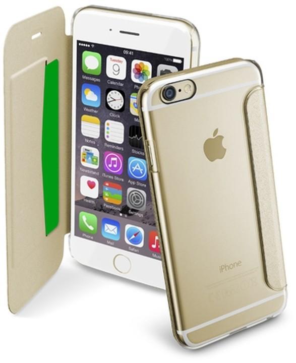 CellularLine průhledné pouzdro typu kniha Clear Book pro Apple iPhone 6 96de5c20d54