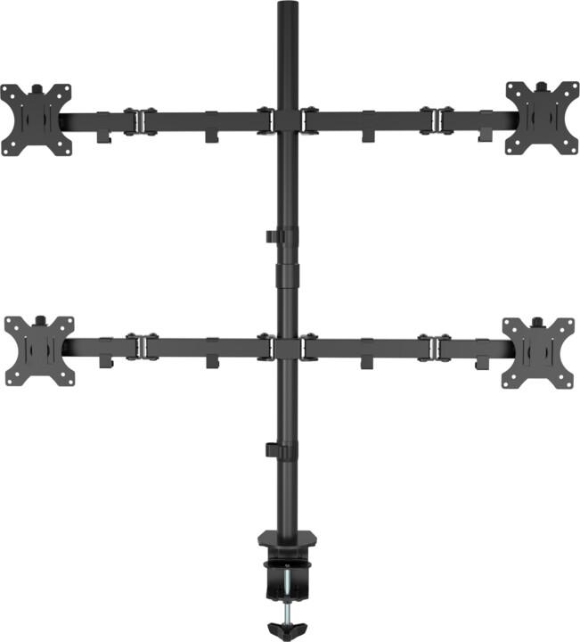 """VISION stolní držák pro monitor 13-27"""", čtyři ramena, černá"""