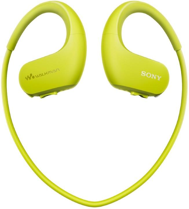Sony NW-WS413, 4GB, zelená