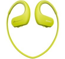 Sony NW-WS413, 4GB, zelená  + O2 TV s balíčky HBO a Sport Pack na 2 měsíce (max. 1x na objednávku)