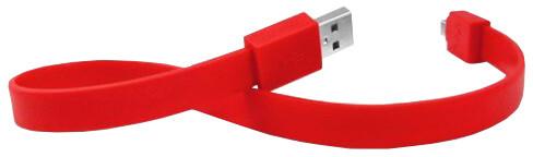 TYLT SYNCABLE 1 Micro USB (30cm) Červená
