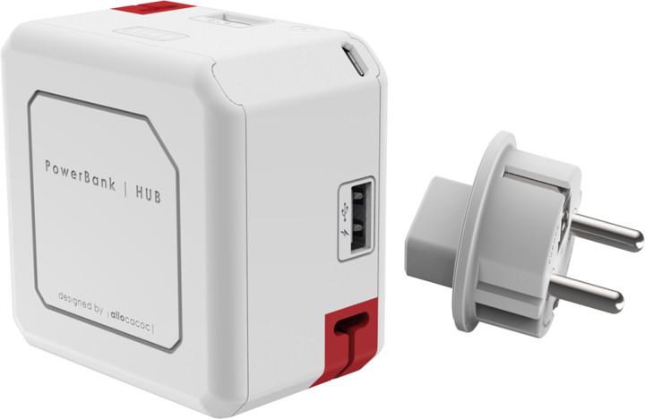 PowerCube Powerusb Portable, 5000 mAh, IEC