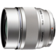 Olympus M. ZUIKO DIGITAL ED 75mm f/1.8, stříbrná