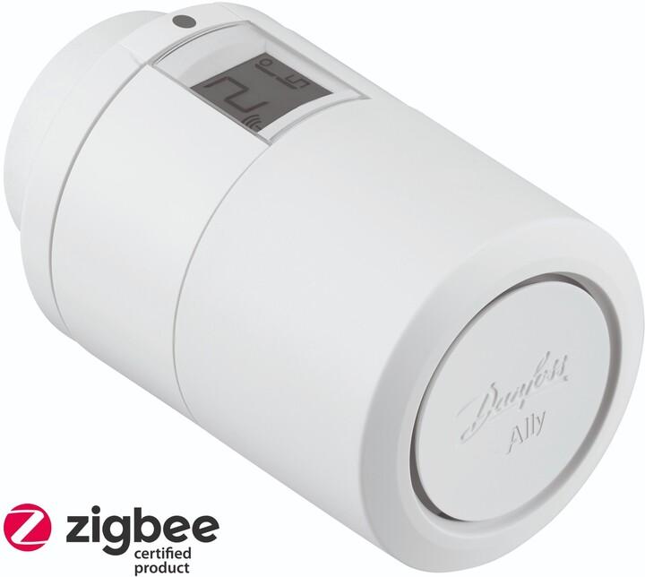 Danfoss Ally eTRV ZigBee termostatická hlavice