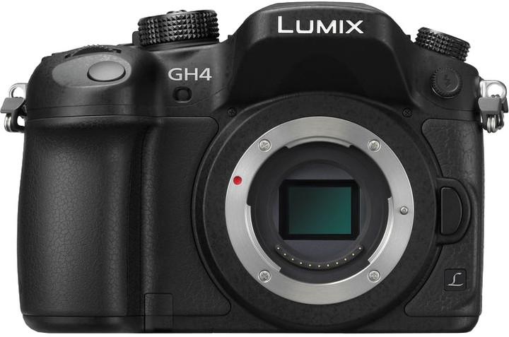 Panasonic Lumix DMC-GH4, tělo + DMW-YAGH