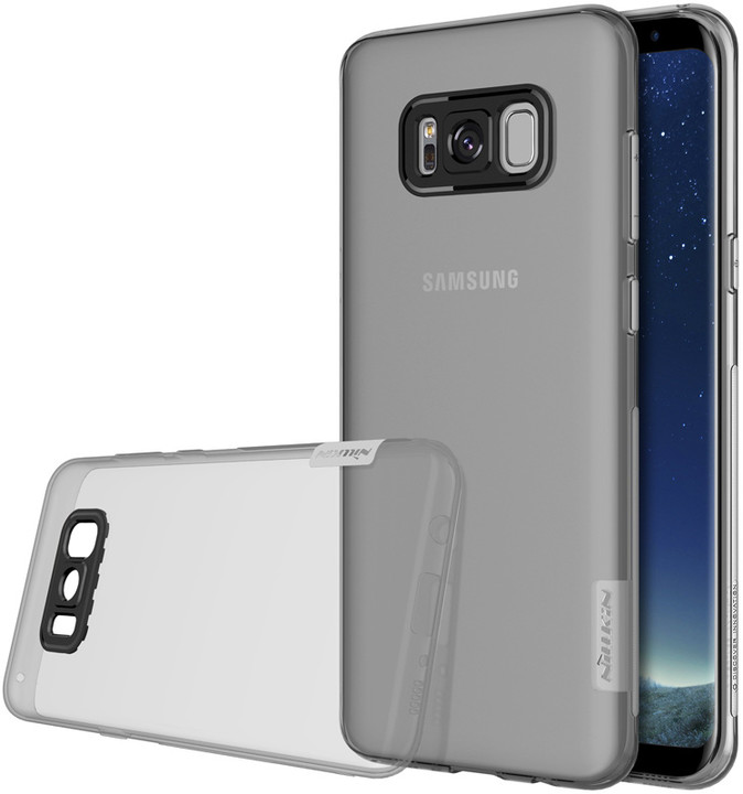 Nillkin Nature TPU pro Samsung G955 Galaxy S8 Plus, Grey