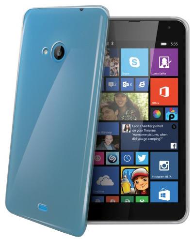 CELLY Gelskin pouzdro pro Microsoft Lumia 535, bezbarvá