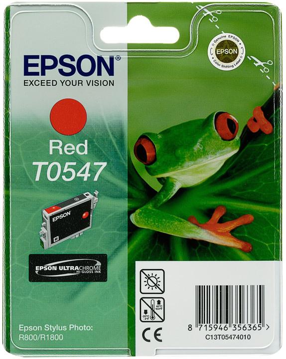 Epson C13T054740, červená