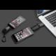 Culcharge Micro USB 3in1 powerbank, kabel a přívěsek