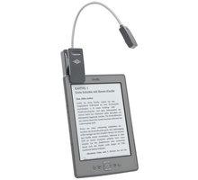 WEDO lampička na eBook, šedá