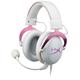 Kingston HyperX Cloud II, bílá/růžová