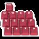 SPC Gear vyměnitelné klávesy KC13 Crimson, Kailh, 13 kláves, červené