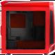 BITFENIX Aegis, černočervená, průhledná bočnice